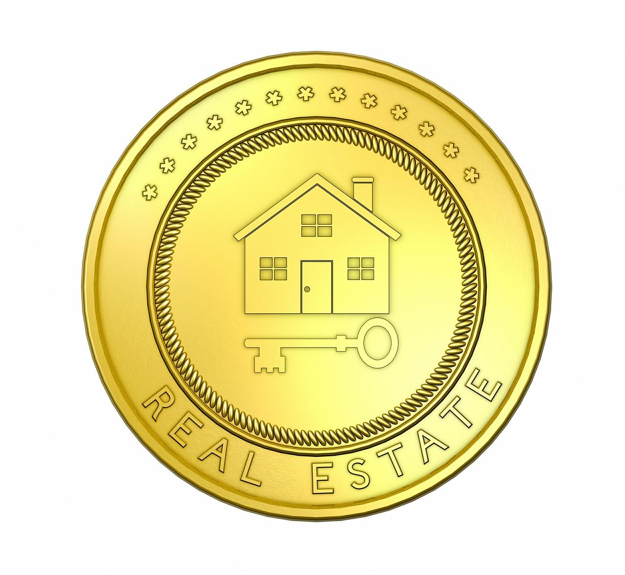 Domek na minci