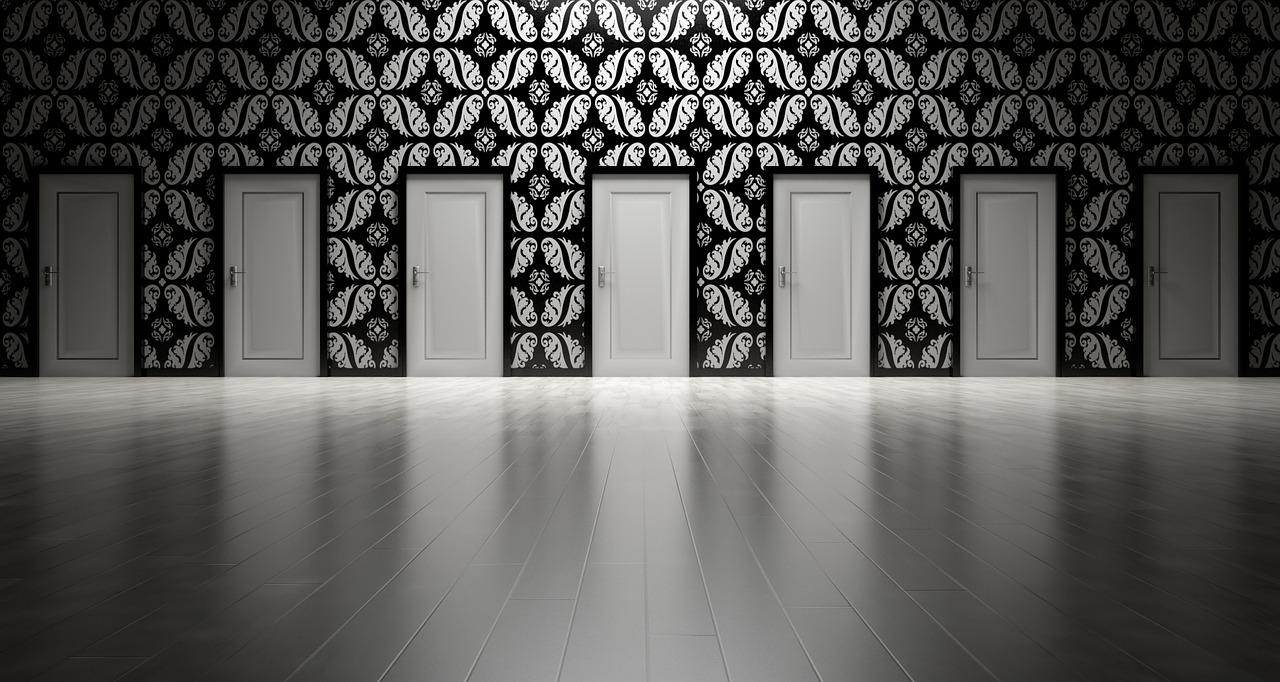 dveře jako volba