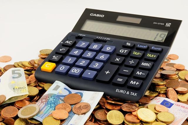kalkulačka a eura