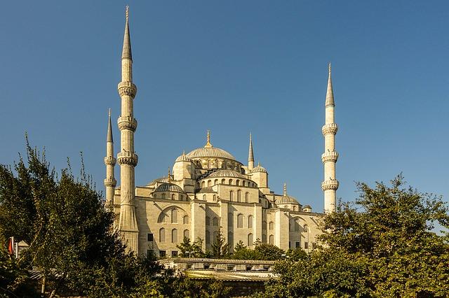 mešita v Istambulu