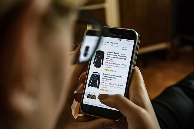 Nakupování přes mobil